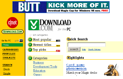 Download.com – Dec.1996