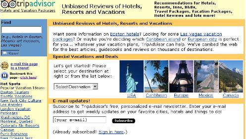 TripAdvisor – Sept.2002