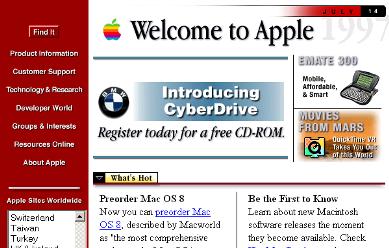 Apple Computer – Oct. 1996