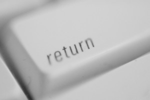 Tombol Return