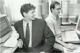 Jon Stephenson von Tetzchner dan Geir Ivarsøy