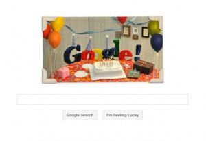 Doodle Ulang Tahun Google