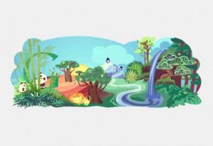 Doodle Hari Bumi