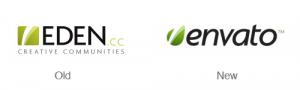Logo Eden dan Envato