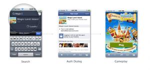 Facebook HTML5 Screenshot