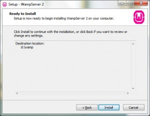 Install WampServer 05