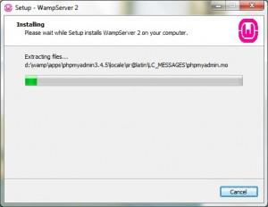 Install WampServer 07