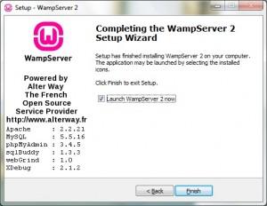 Install WampServer 08