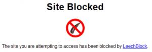 LeechBlocker merupakan add-on Firefox yang akan memblokir website yang sudah ditentukan. Sangat cocok untuk menghindari melakukan pekerjaan yang kontra-produktif.