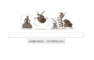 Doodle Martha Graham