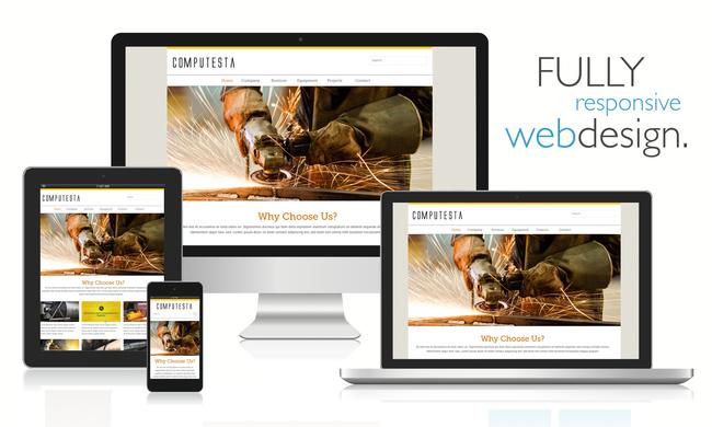 Layanan ideaWEB menawarkan desain profesional, responsif dan mobile friendly untuk perusahaan Anda.