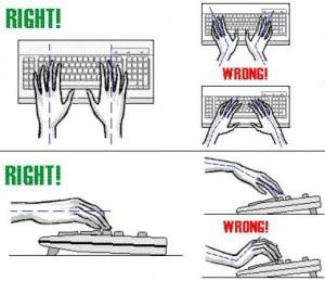 Cara Pemakaian Keyboard