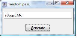 Contoh Hasil PHP-GTK