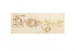 Doodle Thomas Edison