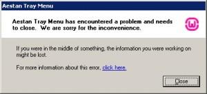 Tampilan Error pada WampServer