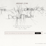 The Wilderness Downtown: Musik Video dengan HTML5